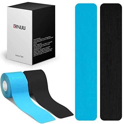 Kinesio Tape Precut Kinesiologie Tape Muskel Tape [25 cm x 5cm] vorgeschnitten in vielen Farben PreCut Sport...