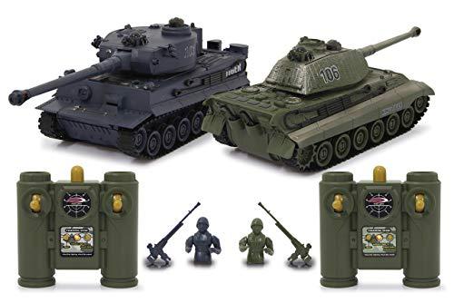 JAMARA 403635 - Panzer Tiger Battle Set 2,4 GHz - Battlemodus mit simulierter Schadensanzeige...