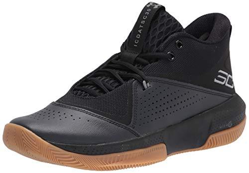 Under Armour Herren 3023917-003_44 Basketball Shoes, Black, 44 EU