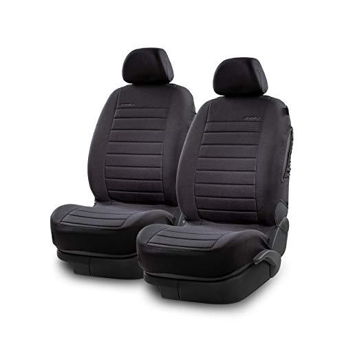 LOEWENFELD Sportliche Autositzbezüge Vordersitze - einfach zu montierende Sitzbezüge Auto [2er Set] zum...