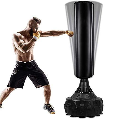 Boxsack StandboxsäckeTrainingsgeräte Erwachsene Freistehender Standboxsack MMA Boxpartner Boxing Trainer...