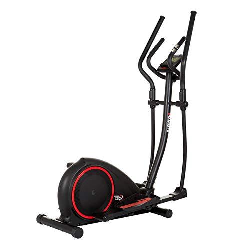 HAMMER Crosstrainer Crosstech XTR, 16 kg Schwungmasse, 20 Trainingsprogramme, gelenkschonendes...