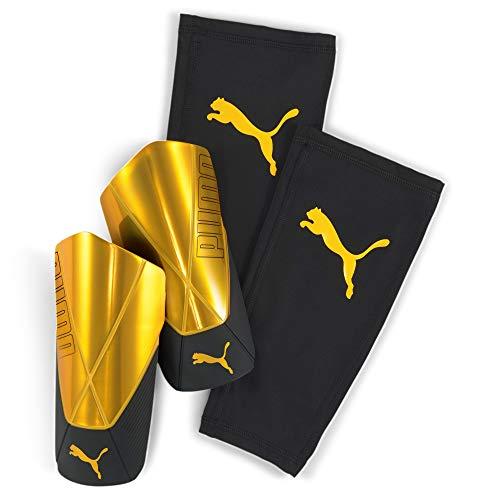 PUMA Unisex– Erwachsene ftblNXT PRO Flex Sleeve Schienbeinschoner, Ultra Yellow Black, S