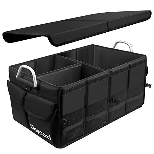 Deyooxi Kofferraum Organizer,Kofferraumtasche mit Deckel,Auto Organizer Kofferraum,Auto Kofferraum Box mit...