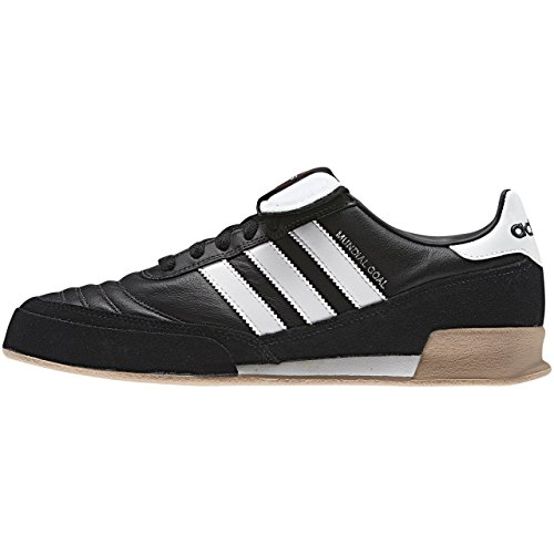 adidas Mundial Goal Herren Fußballschuhe, Schwarz (Black 1/running White/running White), 44 EU