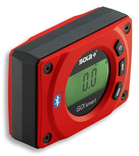 SOLA - GO! smart - Winkelmesser digital mit Bluetooth - digitale Wasserwaage mit LCD - Fernsteuerung über...