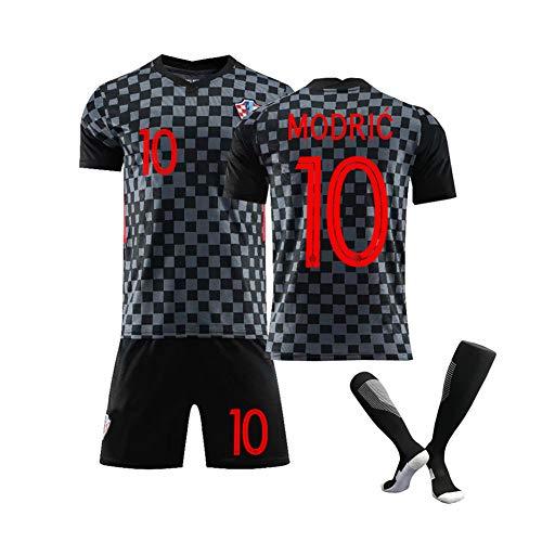 Männerfussball Trikot-Kroatien Nationalmannschaft Fußballtrikot für -Modric10# Mandzukic 17# 2021 Neuer Fan...