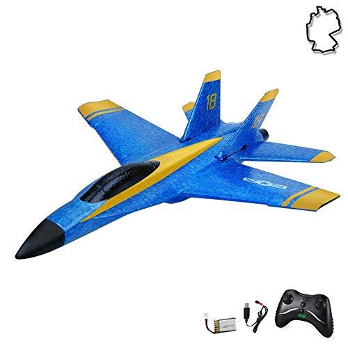 Himoto HSP RC ferngesteuertes Kampf-Jet mit Akku und 2.4GHz-Fernsteuerung, Flugzeug-Modell im Militär-Design,...