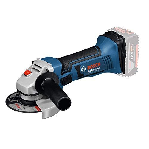 Bosch Professional 18V System Akku Winkelschleifer GWS 18-125 V-LI (Leerlaufdrehzahl: 10.000 min-1,...