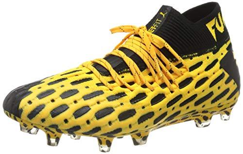 PUMA Herren Future 5.1 Netfit FG/AG Fußballschuhe, Ultra Yellow Black, 44 EU