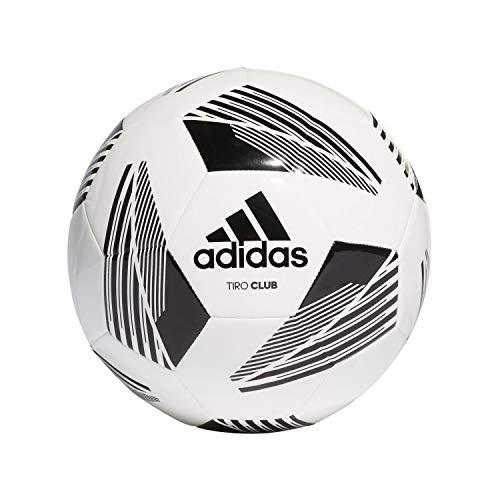 adidas FS0367 Unisex– Erwachsene TIRO CLB Ball, Weiß Schwarz, 5