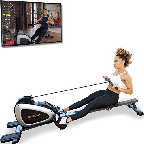 Fitness Reality 1000 Plus Bluetooth Rudergerät mit optionalen Ganzkörperübungen und kostenloser App