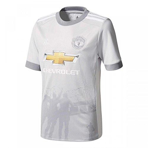 adidas Herren Trikot Manchester United 3rd, hellgrau/weiß, L - 54, AZ7565