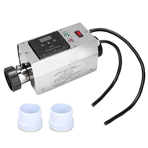 Wandisy Thermostat - 3KW Edelstahl wasserdicht Pool Heizung Thermostat Schwimmbad SPA Whirlpool elektrische...