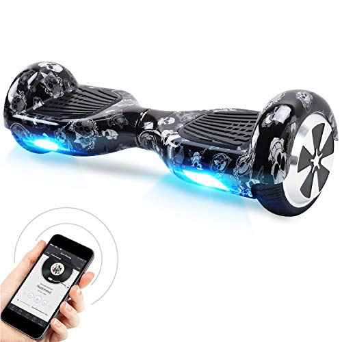 Windgoo Hoverboard, 6,5' Self Balancing Scooter mit Bluetooth, Smart Self Balance Scooter mit Starker Dual...
