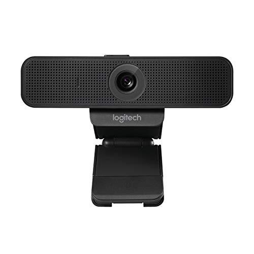Logitech C925e Business-Webcam, HD 1080p, 78° Blickfeld, Autofokus, RightLight 2 Technologie, Abdeckblende, 2...