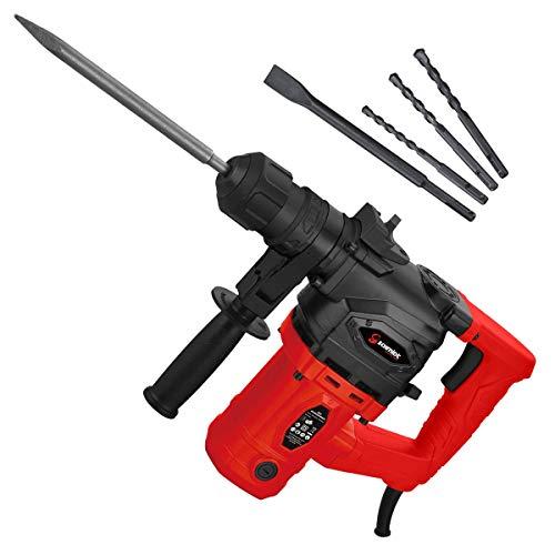 SCHMIDT security tools SDS-Plus Bohrhammer RH-1010 Meißelhammer 1010W 3,5J   Schlagbohren Bohren Meißeln...