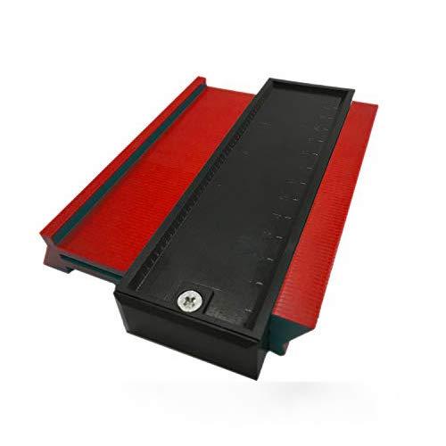 Konturlehre, Yisscen Plastic Gauge Duplicator Profilmesswerkzeug - 5 Zoll / 127 mm Schablonenbogenrahmen...