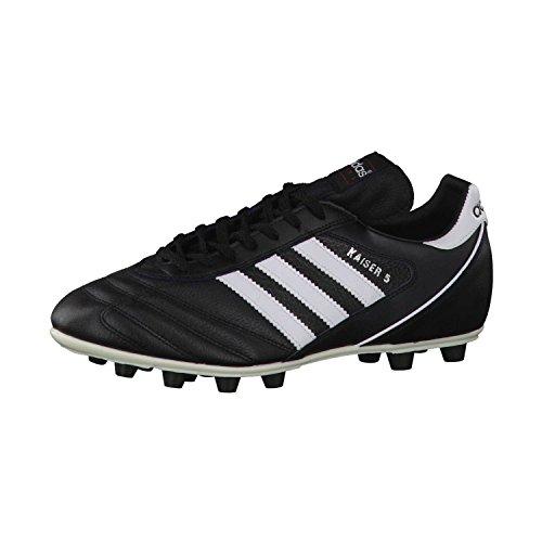 adidas - Kaiser 5, Herren Fußballschuhe,Schwarz (Black/Running White Ftw), 44 EU