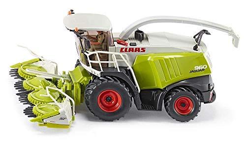 Siku 4058 - Claas Jaguar 960 Maishäcksler, 1:32, Metall/Kunststoff, grün, Bewegliche Teile, Viele Funktionen
