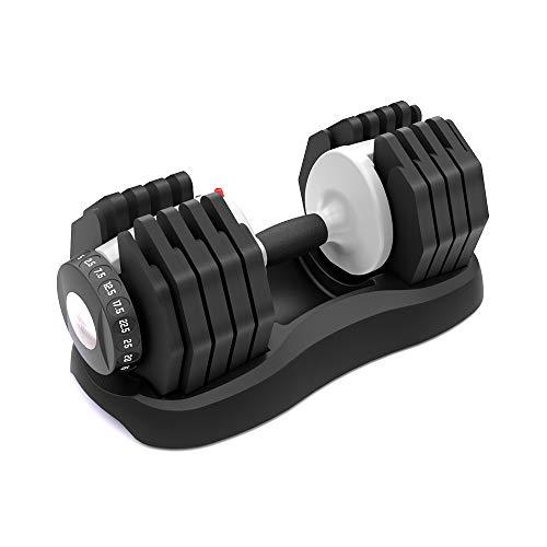 ATIVAFIT Fitness Hantelsystem Versstellbare Hantel 25kg Einstellbare Hantel 2.5kg – 25kg Hanteln Innovativ &...