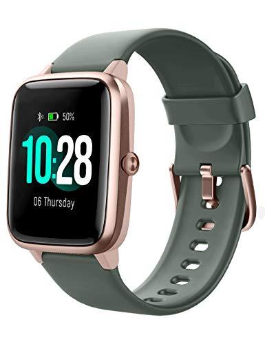 YAMAY Smartwatch,Fitness Armband mit Pulsuhren Fitness Tracker Wasserdicht IP68 Fitnessuhr Sportuhr...