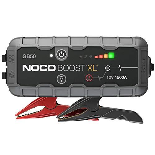 NOCO Boost XL GB50 1500A 12V UltraSafe Starthilfe Powerbank, Tragbare Auto Batterie Booster, Starthilfekabel...