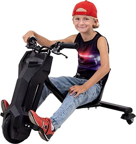 Actionbikes Motors Kinder Elektro Driftscooter 360 Grad - 250 Watt Elektromotor - 3 Geschwindigkeitsstufen -...