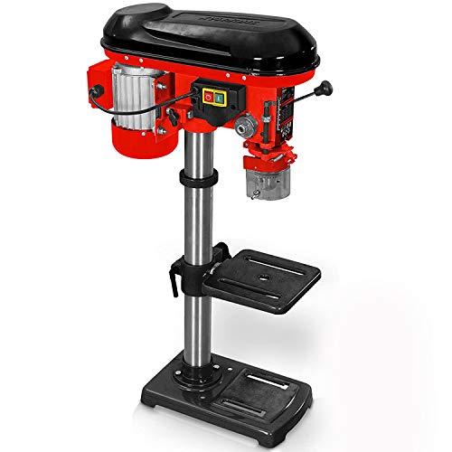 Hecht Profi Standbohrmaschine mit starken 600 Watt – 12-stufige Drehzahlregelung, schwenkbar- und...