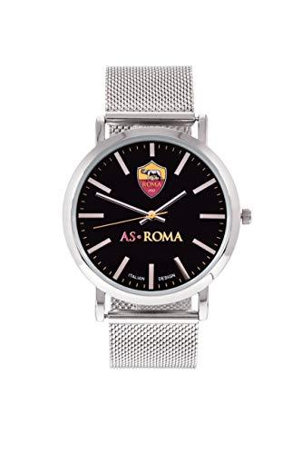 AS Roma Tidy Armbanduhr Unisex - Erwachsene, Stahl, One Size