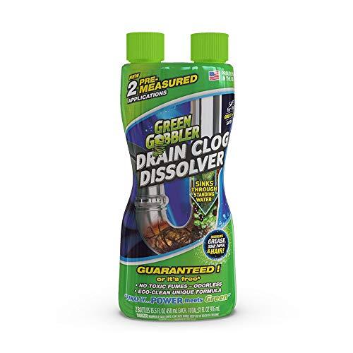 Green Gobbler Lösen Sie Wannen-, Spülen- und Abflussreiniger – Toilettenflüssigkeits-Abflussreiniger &...