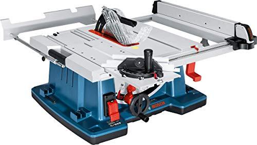 Bosch Professional Tischkreissäge GTS 10 XC (2.100 Watt, Sägeblatt-Ø: 254 mm, Sägeblattbohr-Ø: 30 mm, im...
