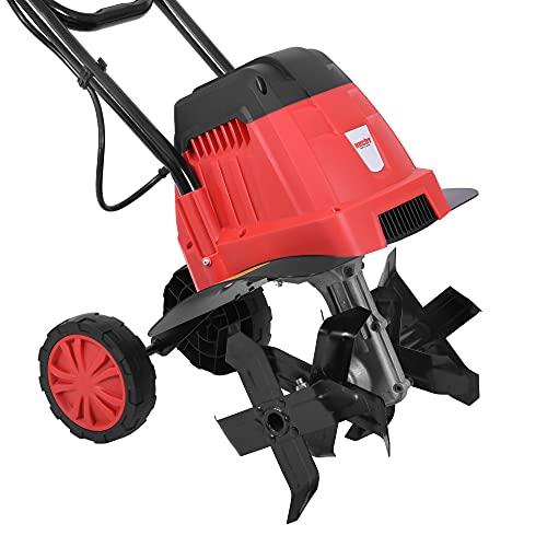 HECHT Elektro Gartenhacke (NEU) für optimale Bodenbearbeitung – 16 Messer - elektrische Bodenhacke –...