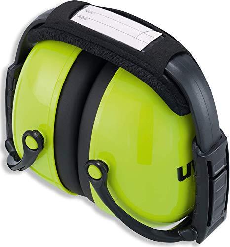 Kapselgehörschutz Uvex K2 faltbar Neon Lime