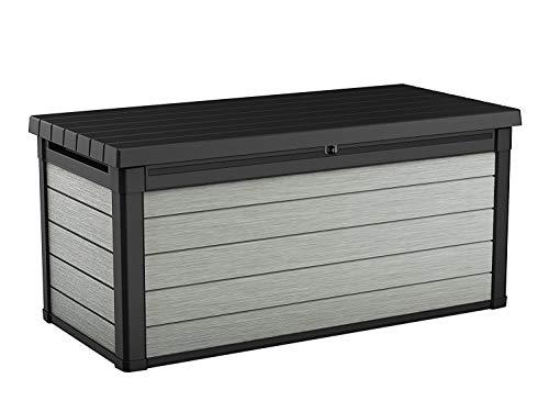 Koll Living Aufbewahrungsbox Maxi - hochwertige Gartenbox mit Gasdruckfedern - viel trockener Stauraum für...