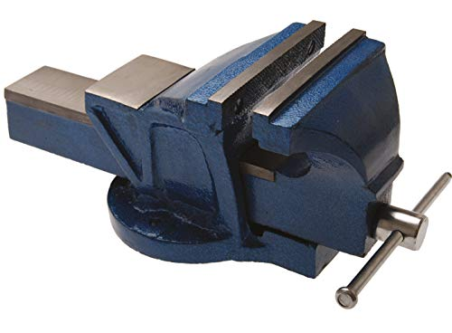 BGS 59270 | Parallel-Schraubstock | 150 mm Spannbacken | Werkbankschraubstock