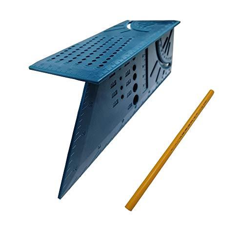 Gehrungswinkel Messlineal 45°/90°-Winkel T-förmiges Schwalbenschwanz Gelenk Holzbearbeitung Messwerkzeug