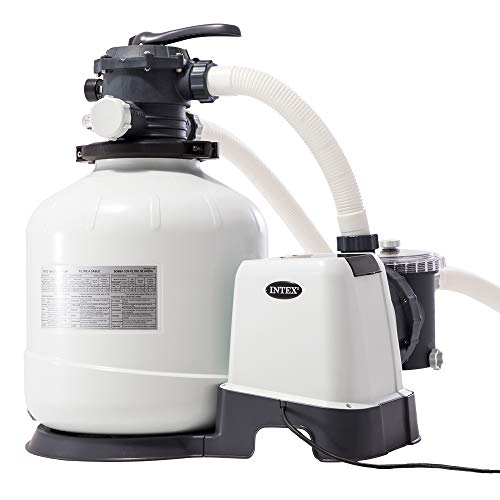 Intex Krystal Clear Sandfilteranlage 12 m³ für Pools bis 42.000l 26652