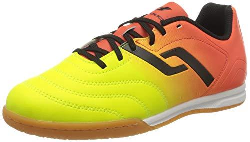 Pro Touch Unisex-Kinder Classic II IN Jr. Fußballschuhe, Orange (Orange/Gelb/Schwarz 000), 31 EU