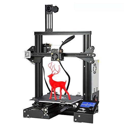 3D-Drucker Creality Ender 3, neue Version Ender 3 mit erschwinglichem Open Source-Format und hervorragender...