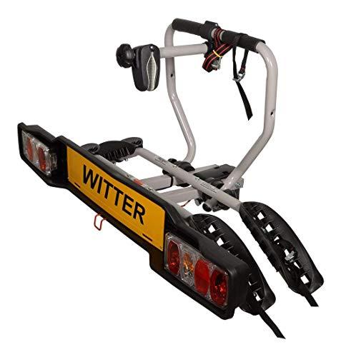 Witter Towbars ZX202EU Fahrradträger für Anhängerkupplung - Kupplungsträger für 2 Fahrräder abklappbar -...
