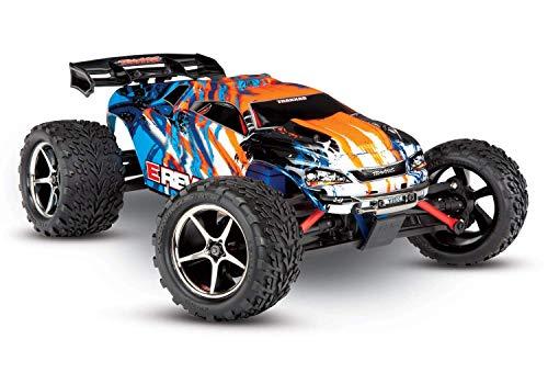 Traxxas E-Revo 4x4 Orange Brushed 1:16 RC Modellauto Elektro Monstertruck Allradantrieb (4WD) RTR 2,4 GHz