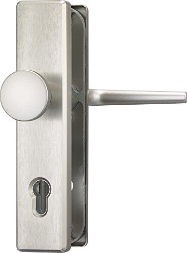 ABUS Tür-Schutzbeschlag HLS214 F9, edelstahl, 31698 (die Verpackung kann variieren)