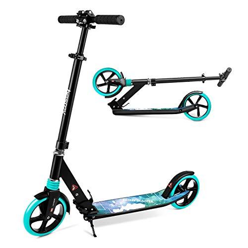 besrey Scooter Kickscooter Tretroller Klappbar Höhenverstellbar Roller für Erwachsene Kinder Teenager ab 8...