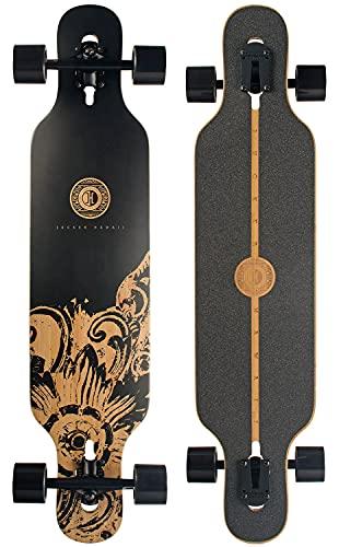 JUCKER HAWAII Longboards - Longboard New HOKU in 2 Flexstufen - Drop Through Longboards, alle Ausführungen
