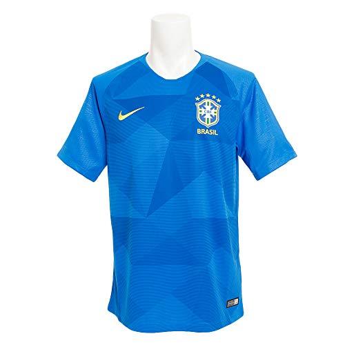 Nike Herren Brasil Cbf Away Stadium Trikot, blau (soar/Midwest gold), L