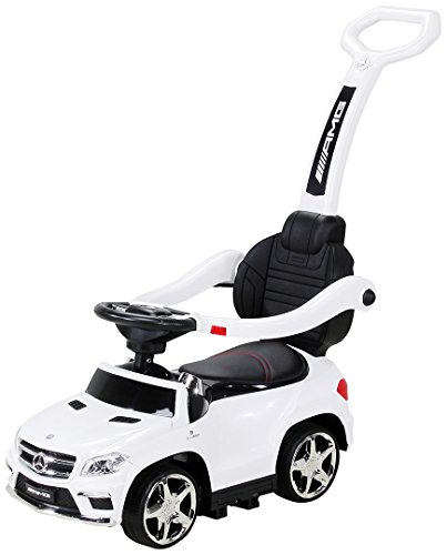 Actionbikes Motors Kinder Rutschauto Mercedes Amg GL 63 - Lizenziert - 4 in 1 - Schiebestange - Rutscher -...