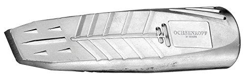 Ochsenkopf Alu-Drehspaltkeil, Geschmiedeter Sicherheitskeil zum einfachen Spalten, KWF-Standard Qualität,...