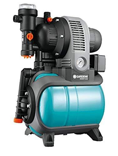 Gardena Classic Hauswasserwerk 3000/4 eco: Hauswasserpumpe mit Thermoschutzschalter, Rückschlagventil,...