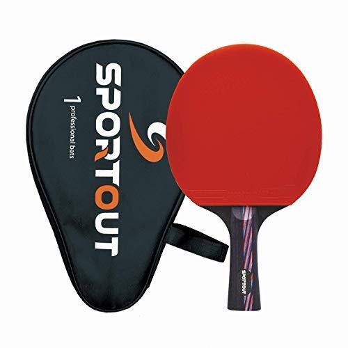 Easy-Room ITTF-zugelassener Tischtennisschläger, Professioneller Tischtennis-schläger, 9-lagiges Holz und...